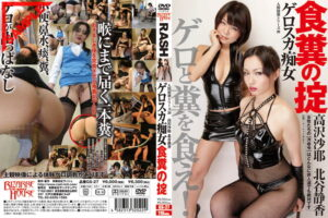 GS-27 Human Collapse Series 20 Geroska Slut Food Droppings Saya Takazawa and Shizuka Kitatani (Jav Scat and Vomit)