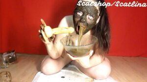 ScatLina – Three shitty vomit (ScatShop.com – 16.02.2020)